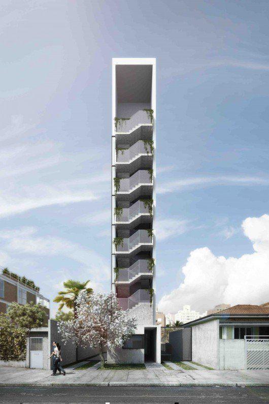 AIR Madalena, edificio de viviendas en San Pablo