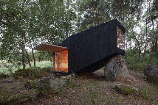 Refugio en el bosque, en la República Checa