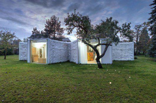 Casa Camaleón, en la República Checa