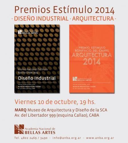 Premios Estímulo de Arquitectura y de Diseño Industrial 2014