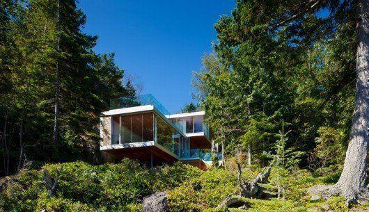 Casa en la Isla Gambier, en Canadá