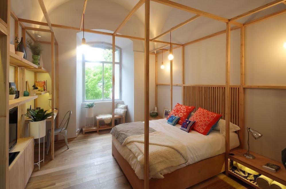 Espacio dormitorio casa foa 2014 arqa for Decoracion casa foa