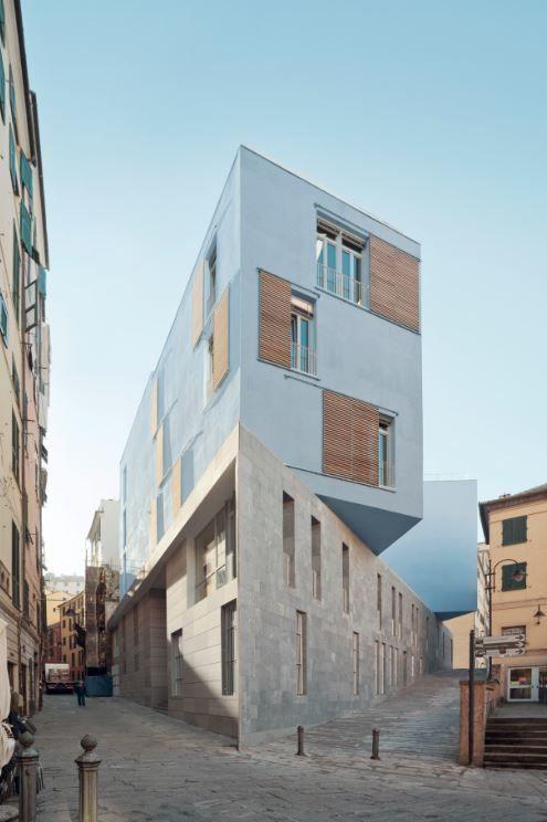 Escuela de la Piazza delle Erbe, en Italia