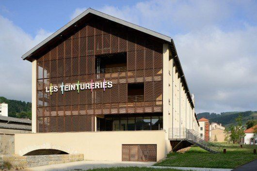 Les Teintureries, fábrica de cerveza en Tarare, Francia