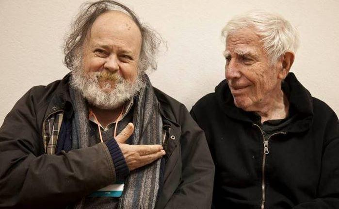 Ronald Shakespear con Bob Gill