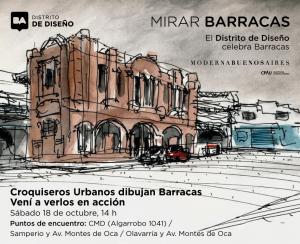 El distrito de Diseño invita a redescubrir Barracas a través del dibujo