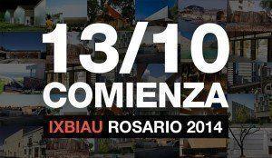 Comienza la IX BIAU, en Rosario