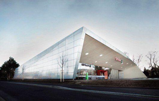 Supermercado que protege el clima en Graz, Austria