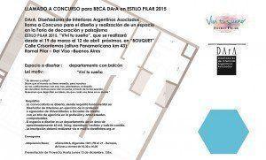 Beca DArA en Estilo Pilar 2015, llamado a concurso