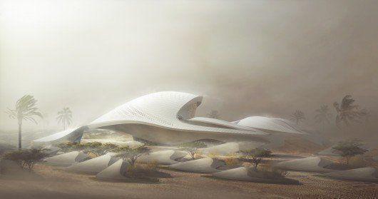 Nueva sede Bee'ah en Sharjah, Emiratos Árabes Unidos