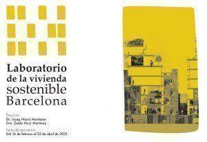 Laboratorio de vivienda sostenible, en Barcelona