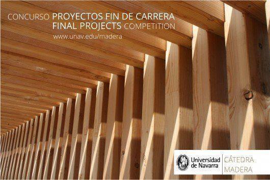 III Concurso PFC Catedra Madera portada