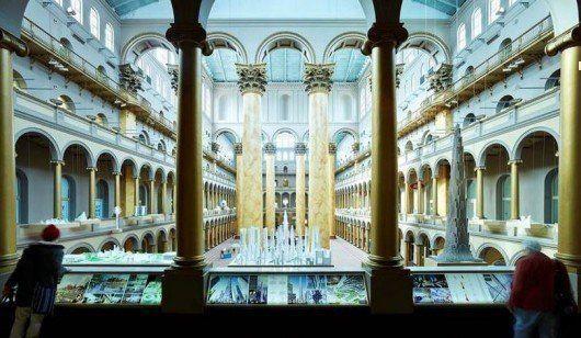 """Exposición """"Caliente a Frío"""" en el National Building Museum, Washington DC"""