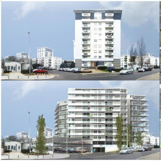 Housing transformation and densification, Saint Nazaire, France