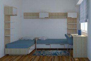 Habitación Mola: Hermanos de 4 y 8 años