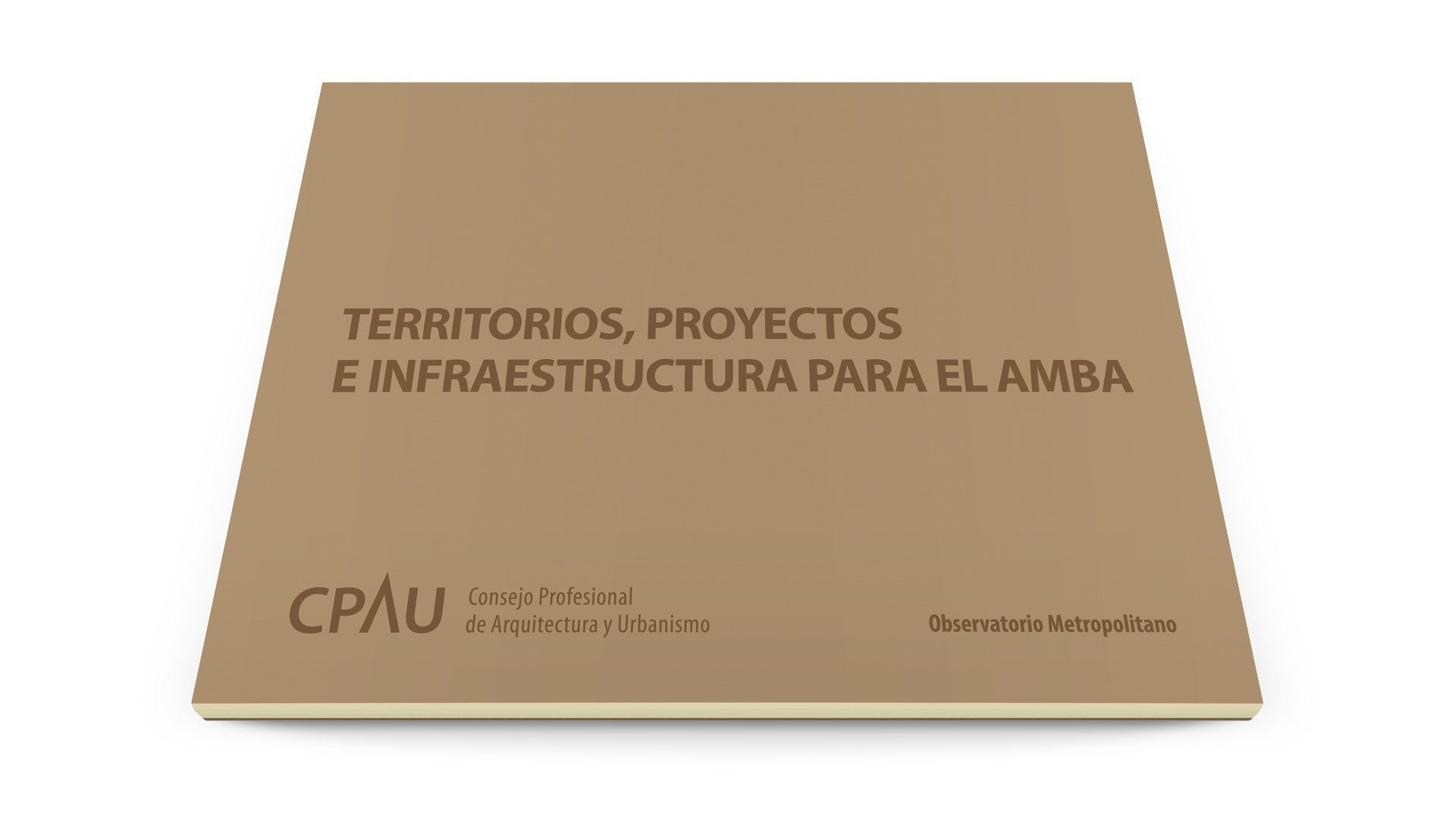 Territorios, Proyectos e Infraestructura para el AMBA