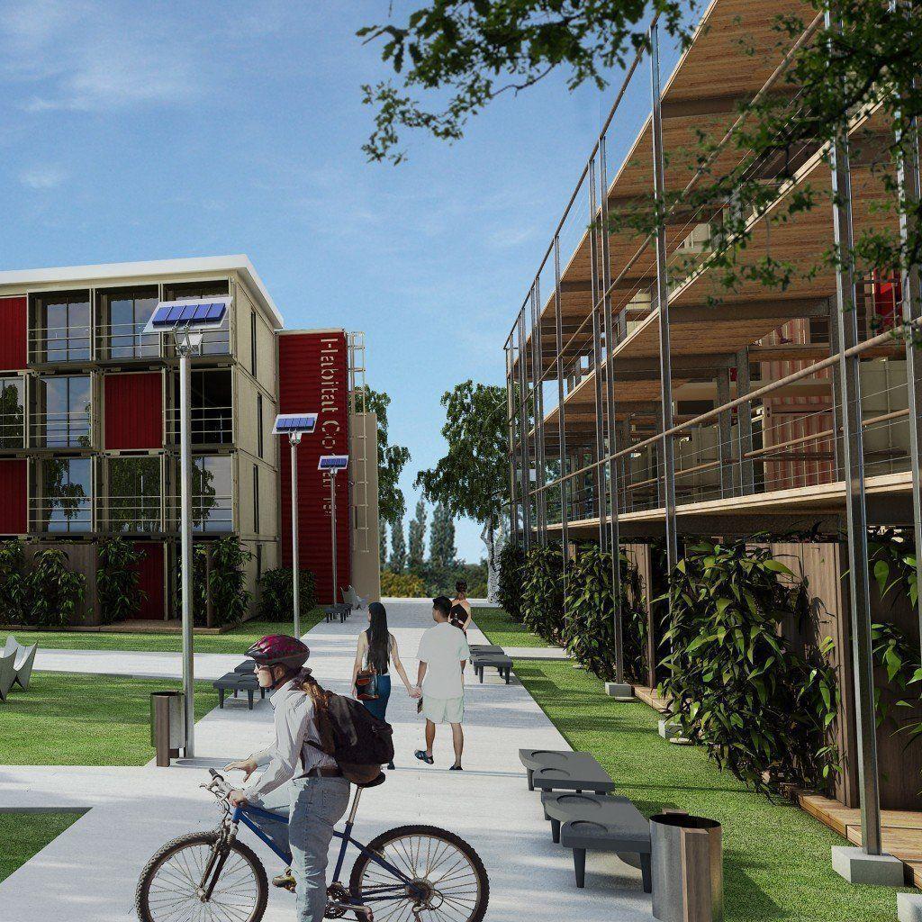 Conjuntos de vivienda social arqa for Vivienda arquitectura