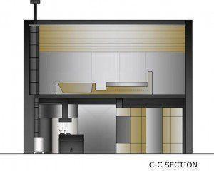 C-C section
