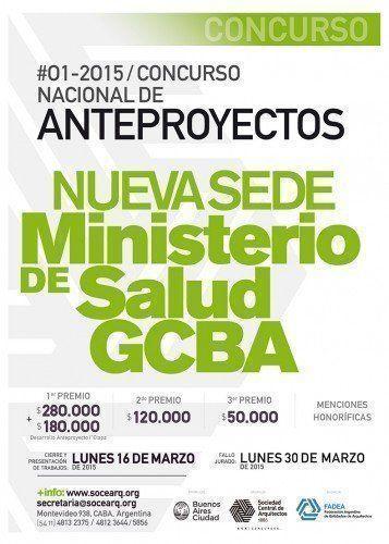 Concurso Nacional Nueva Sede del Ministerio de Salud GCABA