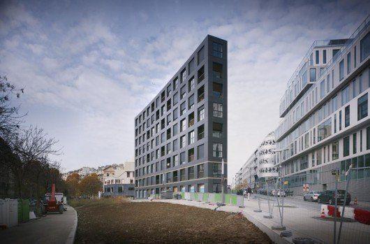 40 unidades de vivienda ZAC Saussure Pont Cardinet, Paris