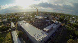 El teatro del Bicentenario superó el 60% de su construcción