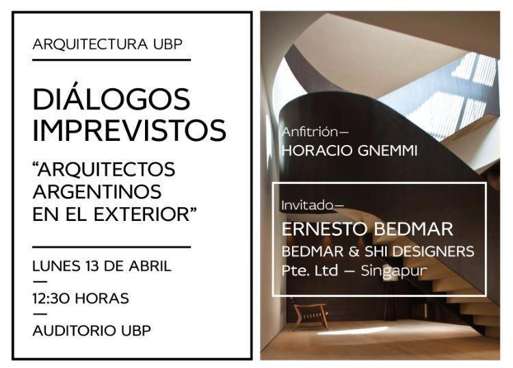 """Diálogos Imprevistos: """"Arquitectos argentinos en el exterior"""""""