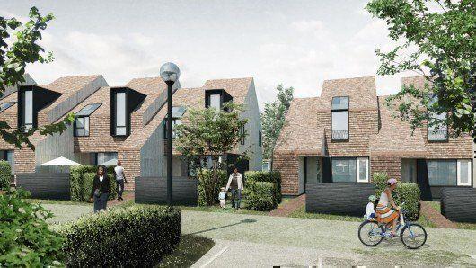 Golden Mede Housing, en Waddesdon