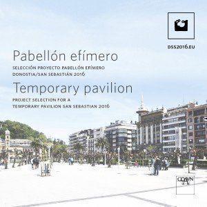 Concurso Pabellón Efímero San Sebastián 2016