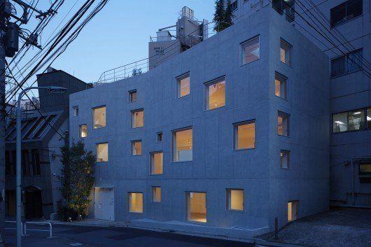 Edificio de oficinas R4, en Tokyo