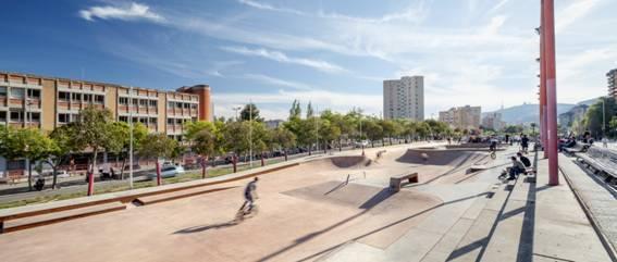 Tres espacios deportivos nuevos en Barcelona