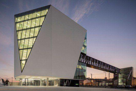 Biblioteca Municipal de Vila Franca de Xira, en Lisboa