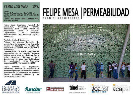 Conferencia Felipe Mesa: Permeabilidad