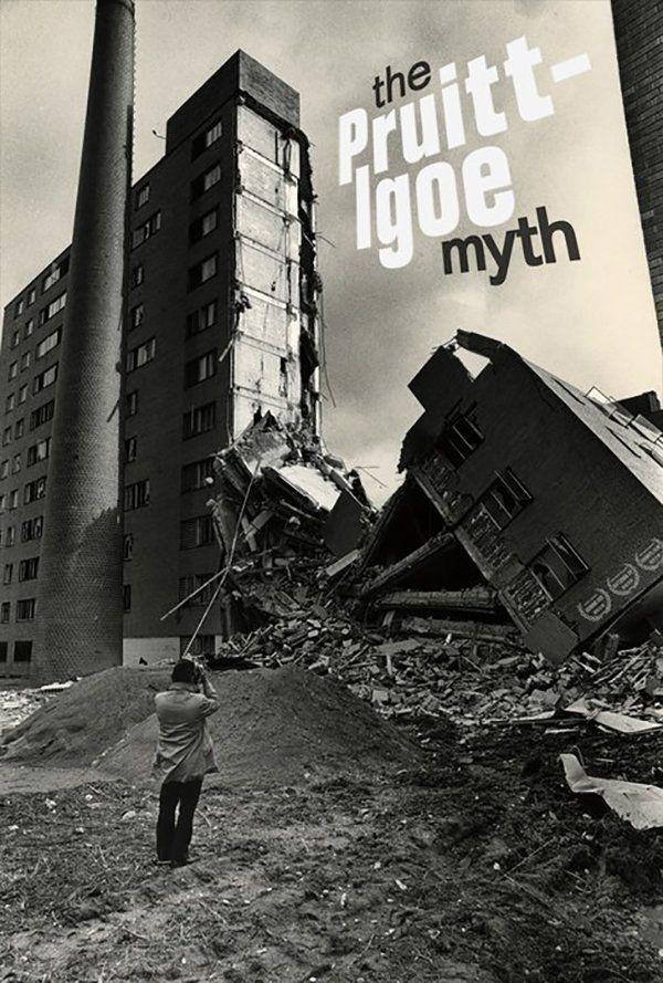 """Ciclo de cine arquitectónico: """"El mito de Pruitt-Igoe"""""""