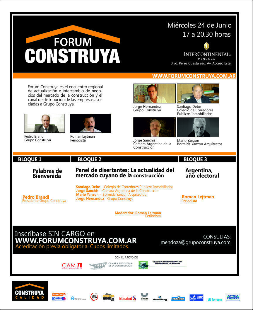 Forum Construya 2015