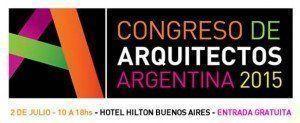 Congreso de arquitectos Argentina 2015