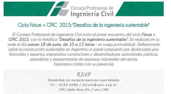 Fórum + CPIC 2015