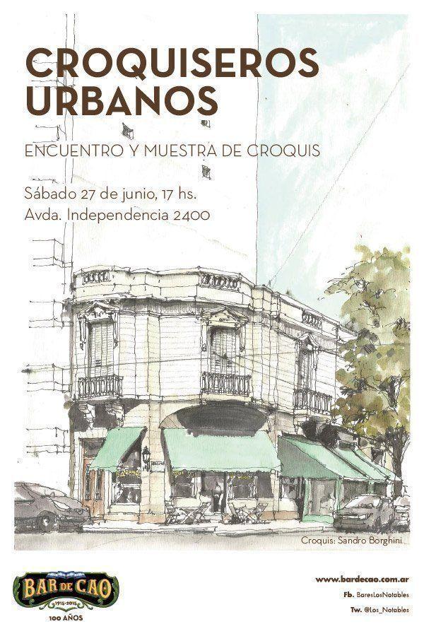 Bar de Cao _Centenario_Croquiseros Urbanos