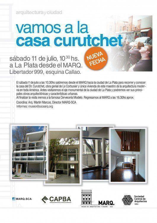 Visita a la Casa Curutchet, desde el MARQ