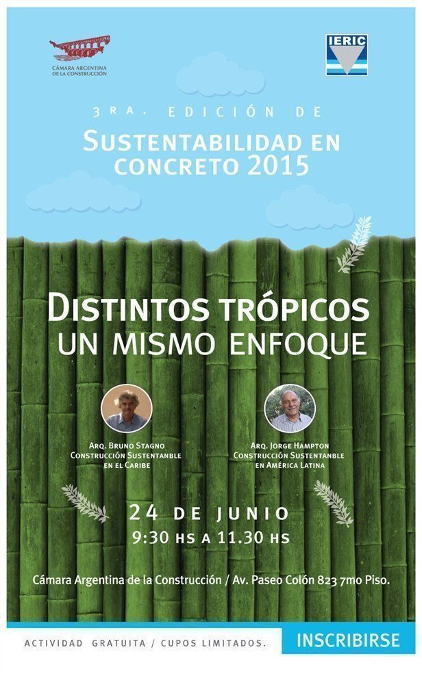 Sustentabilidad en Concreto 2015