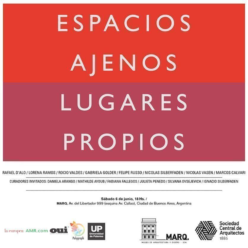 """Exposición: """"Espacios ajenos. Lugares propios"""""""
