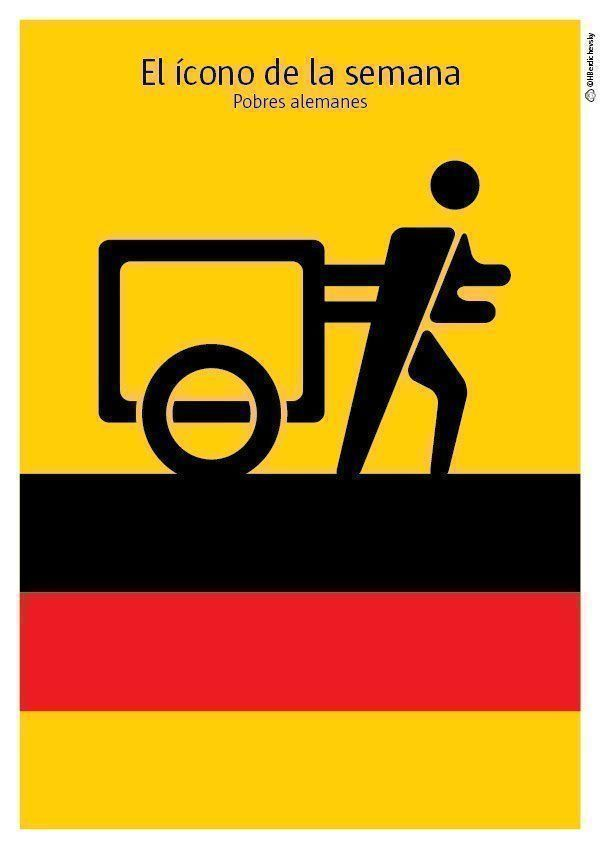Pobres alemanes, el ícono de la semana