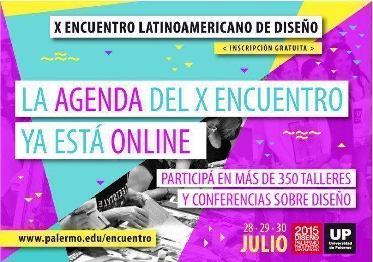 X Encuentro Latinoamericano de Diseño 2015