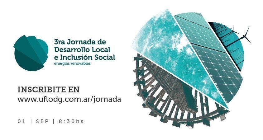 3º Jornada de Desarrollo Local e Inclusión Social - Energías Renovables