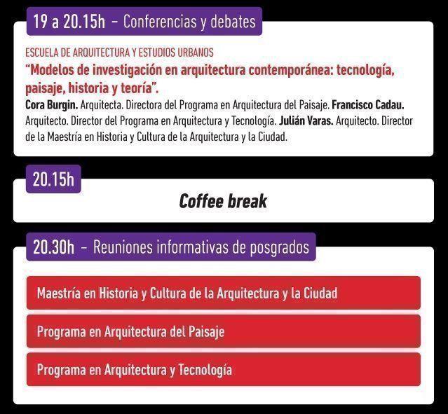 Experiencia Di Tella: Ciclo de conferencias