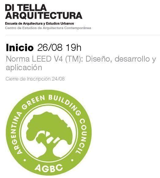 """Curso: """"Norma LEED V4 (TM): Diseño, desarrollo y aplicación"""""""