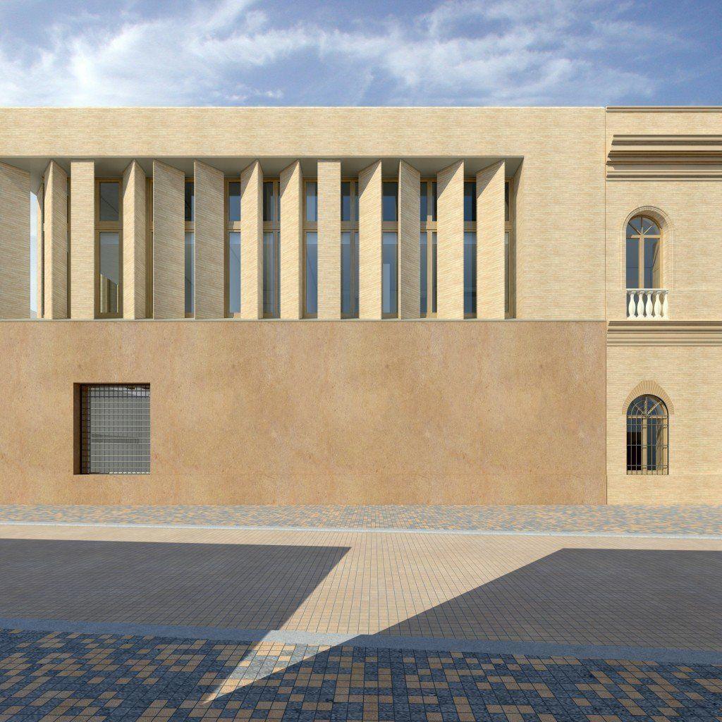 Imagen del proyecto de rehabilitación del ayuntamiento de Écija