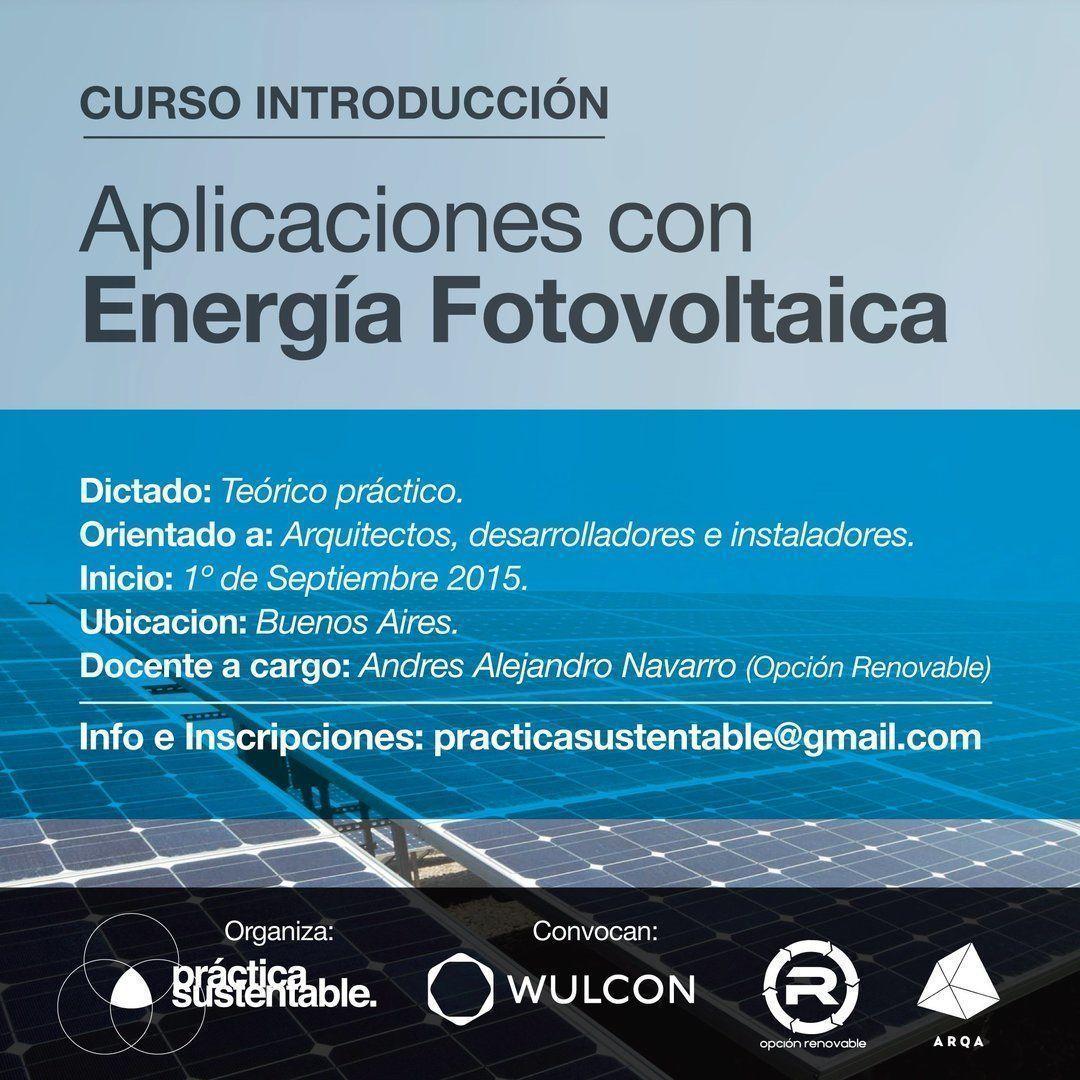 Curso de Energías Renovables