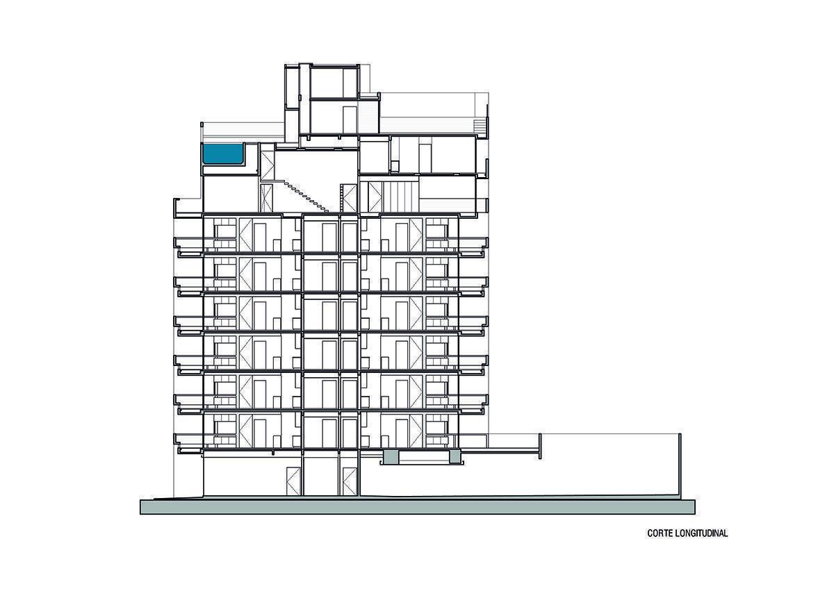 Ravignani 2170 arqa for Cortes arquitectonicos