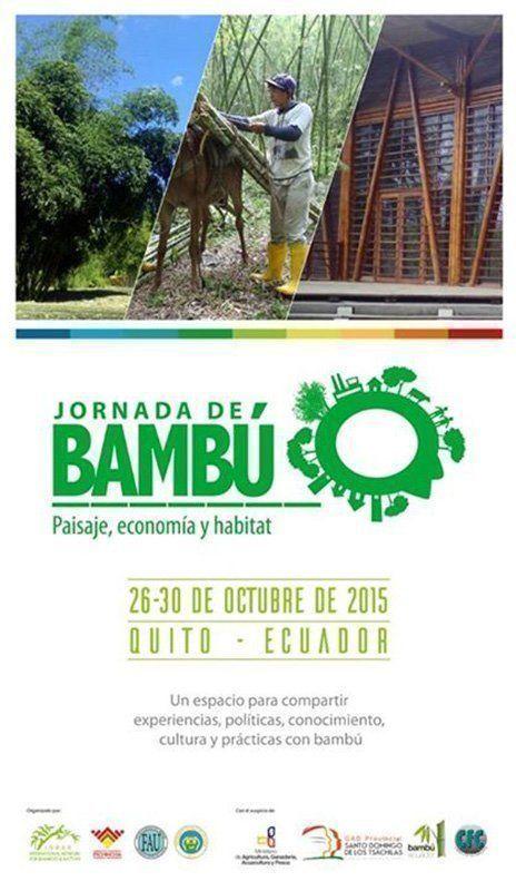 Jornada de Bambú: Paisaje, Economía y Hábitat