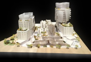 Model photos © Gehry Partners, LLP